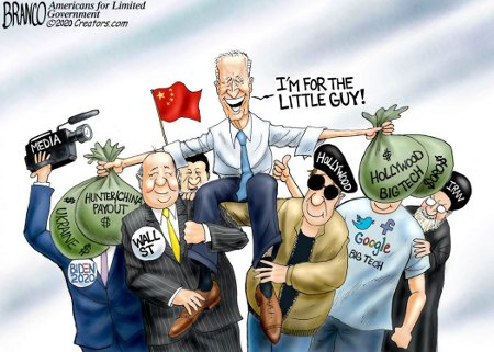 Biden's For The Little Guy ... Not!