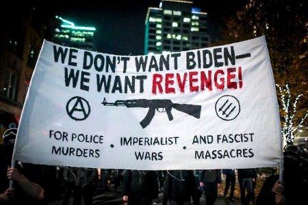 "Blacks Don't Want Biden. They Want ""Revenge"" They want to kill and rape Whites with impunity"