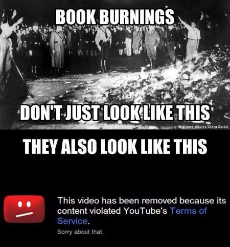 21st Century Book Burnings Different in appearance, the same in intent