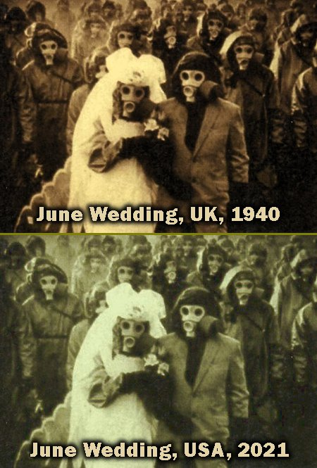 June Weddings 2021 America will look a lot like 1940 England