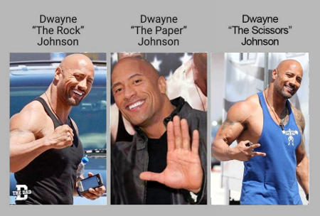 Dwayne The Roshambo Johnson