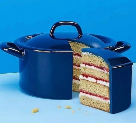 Lies!  The Dutch Oven Is A Lie! It's A Cake!