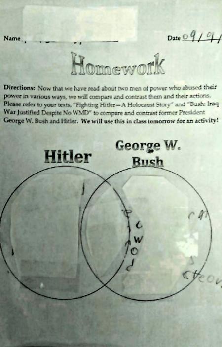 hitler-v-bush