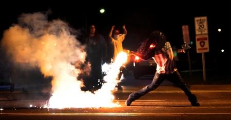 Black Protester