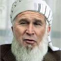 Bush as Osama Bin Laden