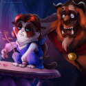 Grumpy Cat Disney Princess - 02