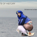 Muhammad Writes Qur'an