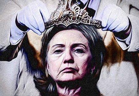 Hillary Finally Crowned - declared Regina Hypocrisis