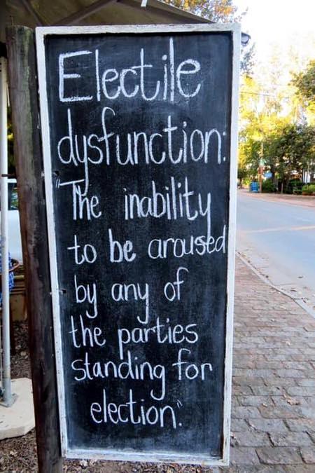 Democrats' 2020 Dysfunction - It's Electyle Dysfunction