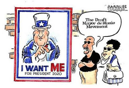 The Draft de Blasio Movement - I Want Me For President