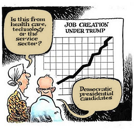 Trump's Job Creation Extends To Dems
