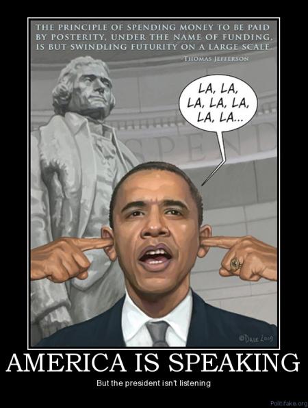 Obama - America Is Speaking